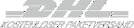 versandkostenfrei mit DHL Paket national