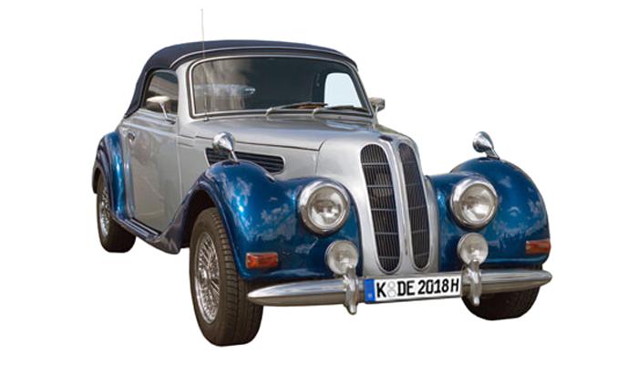 PKW-Kennzeichen für historische Fahrzeuge